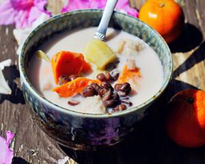 红豆芋头甜薯汤