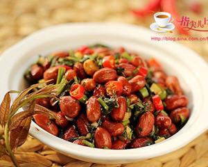 香椿拌花生米(抗衰老,补阳滋阴的下酒菜)