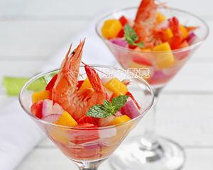香芒鲜虾沙拉(减肥瘦身)