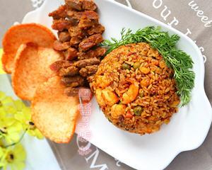 正宗印尼炒饭的做法_图解好吃的印尼炒饭怎么做才正宗