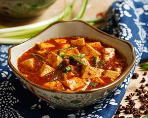 牛肉麻婆豆腐