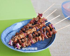 烤羊肉串电饼铛版