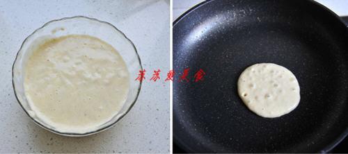 无糖玉米饼怎么做_香蕉松饼无泡打粉的做法_图解无油无糖无泡打粉的香蕉松饼怎么 ...