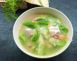 丝瓜土鸡汤(消暑降火)