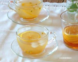 百香果蜂蜜柠檬水