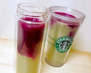 火龙果芭乐果汁