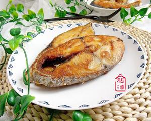 电饼铛干煎马蛟鱼