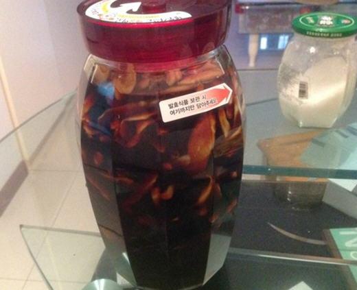 酱油泡嫩姜