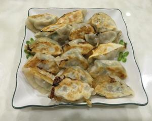 冷冻饺子做煎饺