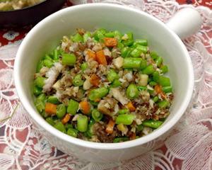 四季豆鲷鱼松(便当菜)