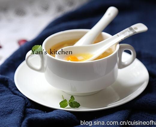 糖水百合南瓜的百合_水煮做法猪蹄糖图解坐月子能吃藕炖南瓜汤图片