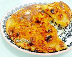 蜂蜜苹果甜披萨
