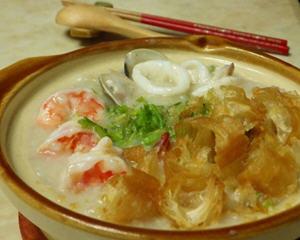 港式海鲜煲粥