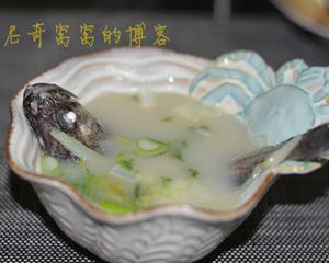 清炖黑鱼汤的做法_图解清炖黑鱼汤怎么做好喝