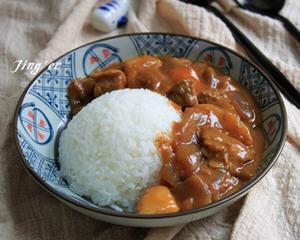 咖喱牛肉饭的家常做法