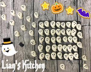 Happy Halloween阿飘饼干(万圣节特供)