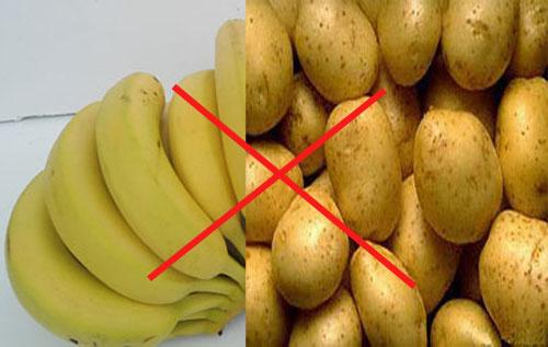 不能和土豆一起吃