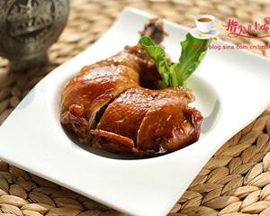 陈皮豉油鸡腿