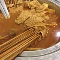 杨翔豆皮刷牛肚的做法 步骤1