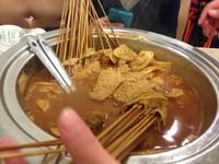 杨翔豆皮刷牛肚的做法 步骤2