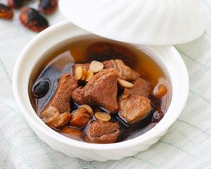 瑶柱花豆煲瘦肉