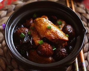 香菇鸡翅煲