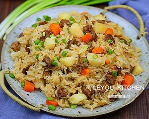 羊肉焖饭电饭锅版