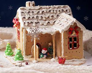 diy圣诞姜饼屋
