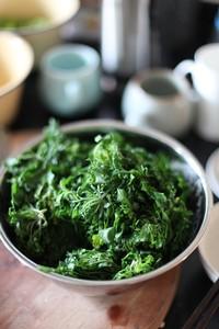 素荠素菜饺子制作步骤1