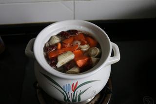 牛蒡羊肉汤的做法步骤:4