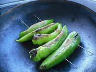 烧烤尖椒的做法步骤6