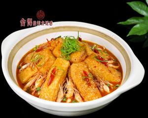 河虾煲豆腐