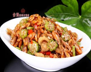 河虾烩三鲜