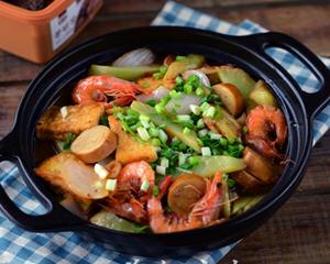 香酱莴笋锅