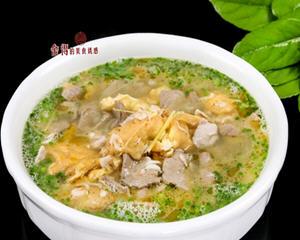 猪肝鸭蛋汤