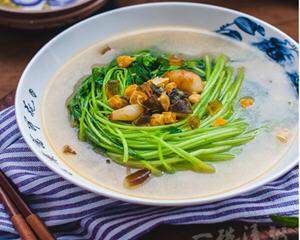 上汤苋菜的做法_图解上汤苋菜怎么做好吃