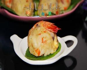 鲜虾土豆泥