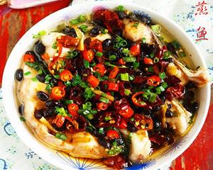 香辣豆豉蒸鱼