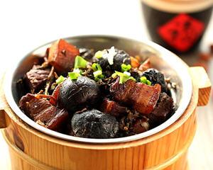 香菇梅干菜红烧肉