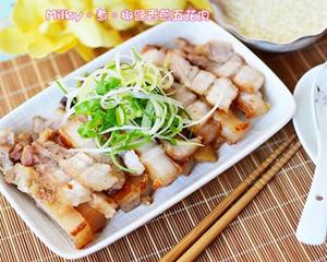 椒盐香煎五花肉