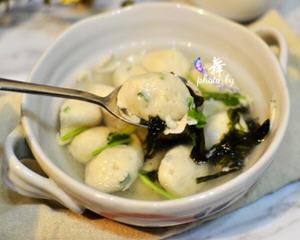 虾仁鱼丸的做法_图解好吃的虾仁鱼丸怎么做