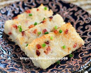 粘米粉法港式萝卜糕