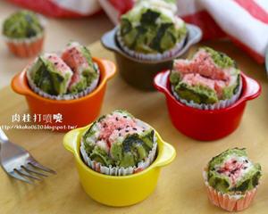 西瓜造型开运发糕(年菜)