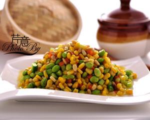 松仁玉米的家常做法