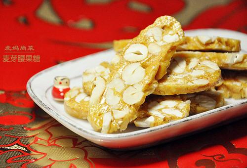 翻糖花生_古老的年味麦芽花生糖的做法图解-聚餐网
