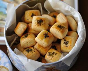 奶酪蛋黄酥(春节年菜)