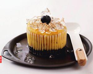 水晶双莓乳酪蛋糕