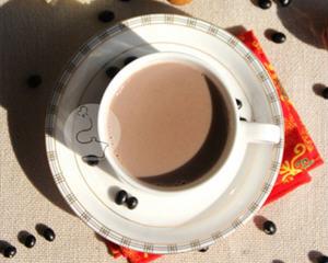 核桃黑豆浆