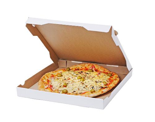 披萨纸盒能放微波炉吗