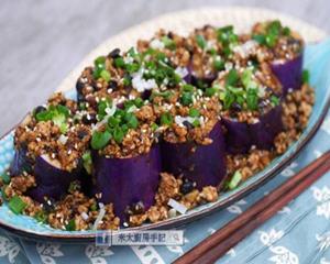 豉香肉末茄子的做法_图解好吃的豉香肉末茄子怎么做